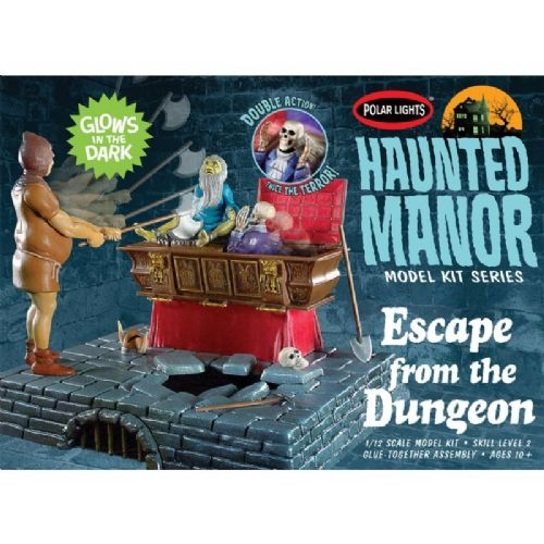 Haunted Manor Escape From the Dungeon Model Kit